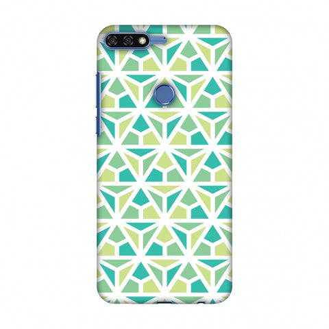 Pretty Patterns: Mozaics Slim Hard Shell Case For Huawei Honor 7C