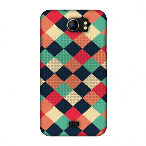 Retro Much? Slim Hard Shell Case For Micromax Canvas 2 A110