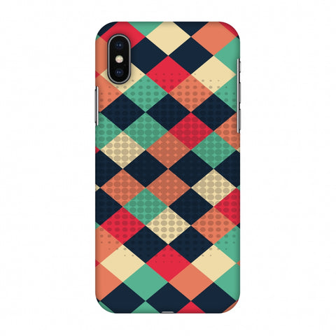 Retro Much? Slim Hard Shell Case For Apple iPhone X