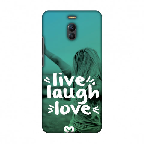 Live Laugh Love Slim Hard Shell Case For Meizu Note 6