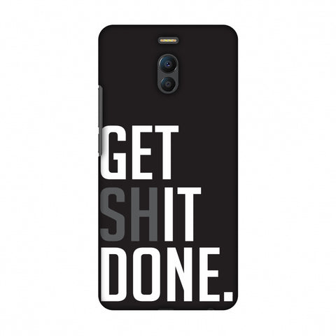 Get Shit Done Slim Hard Shell Case For Meizu Note 6