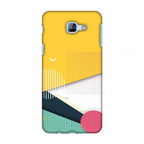 Dots And Stripes Slim Hard Shell Case For Samsung Galaxy A8 2016