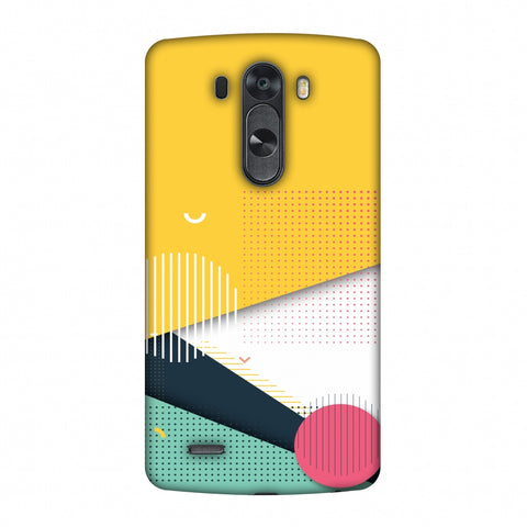 Dots And Stripes Slim Hard Shell Case For LG G4