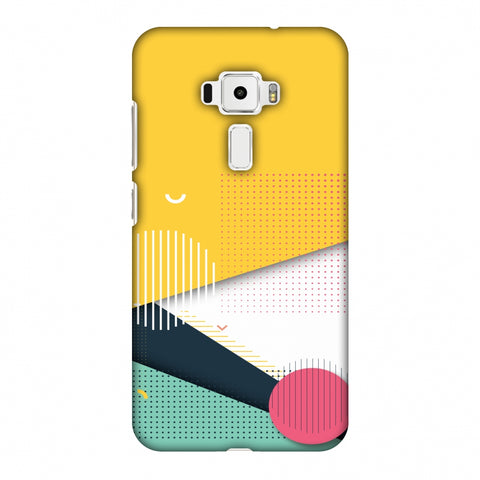 Dots And Stripes Slim Hard Shell Case For Asus Zenfone 3 ZE520KL