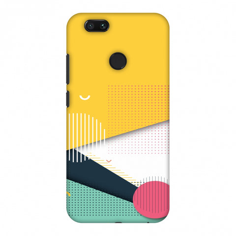 Dots And Stripes Slim Hard Shell Case For Xiaomi MI A1-5X