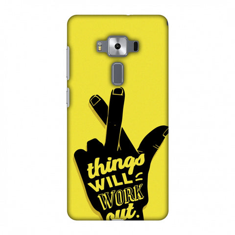 Things Will Work Out Slim Hard Shell Case For Asus Zenfone 3 Deluxe ZS570KL