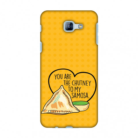 You Are The Chutney To My.. Slim Hard Shell Case For Samsung Galaxy A8 2016