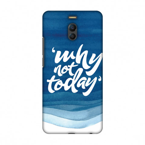Why Not Today! Slim Hard Shell Case For Meizu Note 6
