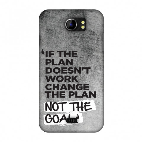 If The Plan Doesn'T Work.. Slim Hard Shell Case For Micromax Canvas 2 A110