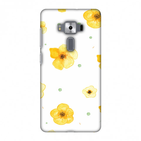 Pretty Patterns: Lilies Slim Hard Shell Case For Asus Zenfone 3 Deluxe ZS570KL
