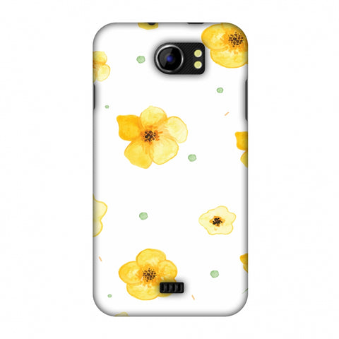 Pretty Patterns: Lilies Slim Hard Shell Case For Micromax Canvas 2 A110