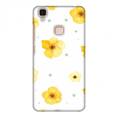 Pretty Patterns: Lilies Slim Hard Shell Case For Vivo V3 Max