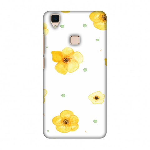 Pretty Patterns: Lilies Slim Hard Shell Case For Vivo V3