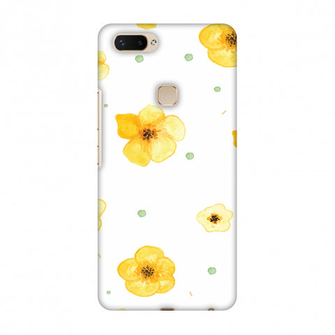 Pretty Patterns: Lilies Slim Hard Shell Case For Vivo X20 Plus