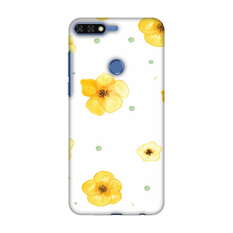 Pretty Patterns: Lilies Slim Hard Shell Case For Huawei Honor 7C