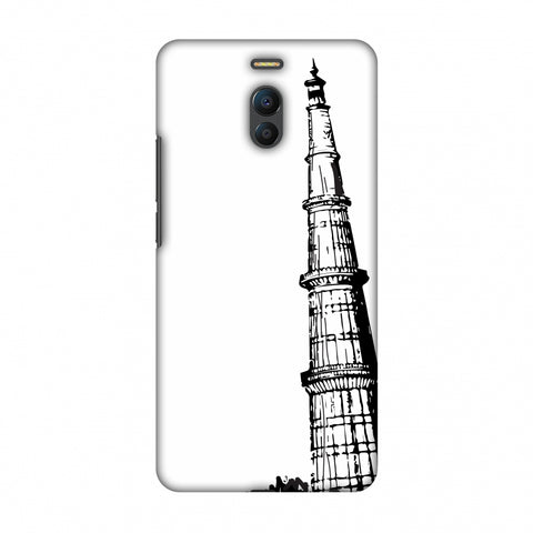 Qutub Minar Slim Hard Shell Case For Meizu Note 6