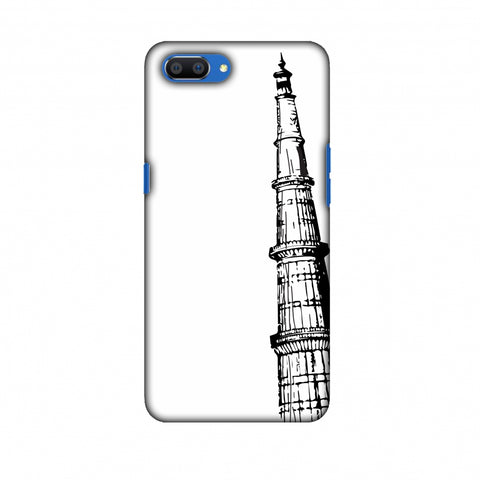 Qutub Minar Slim Hard Shell Case For Oppo Realme C1