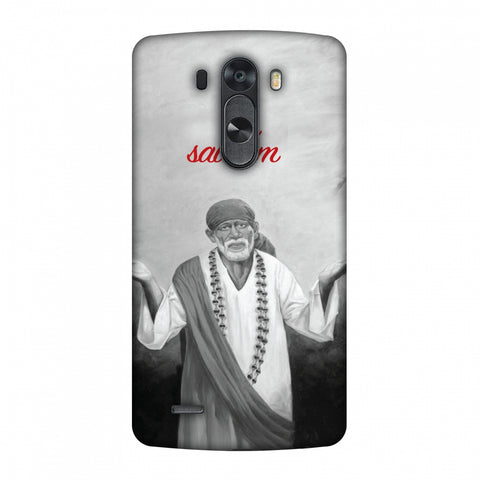 Om Sai Ram Slim Hard Shell Case For LG G4