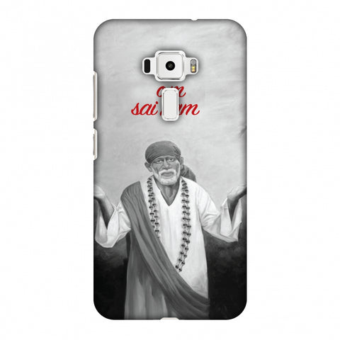 Om Sai Ram Slim Hard Shell Case For Asus Zenfone 3 ZE520KL