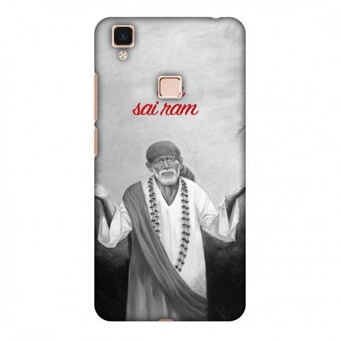 Om Sai Ram Slim Hard Shell Case For Vivo V3 Max