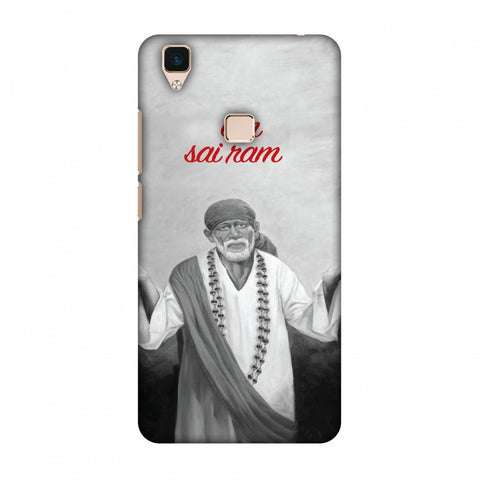 Om Sai Ram Slim Hard Shell Case For Vivo V3