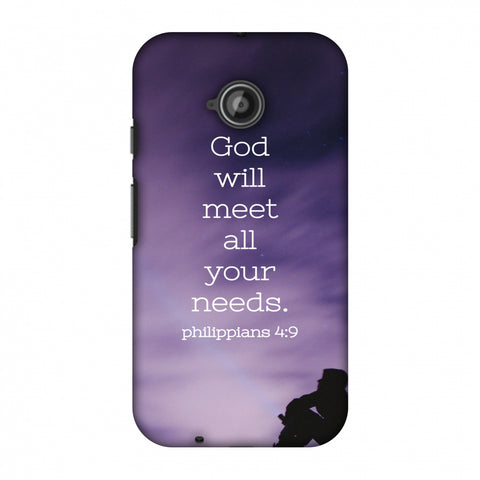 Holy Books Bible 1 Slim Hard Shell Case For Motorola Moto E 2nd Gen