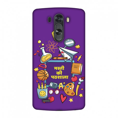 Masti Ki Paathshala Slim Hard Shell Case For LG G4