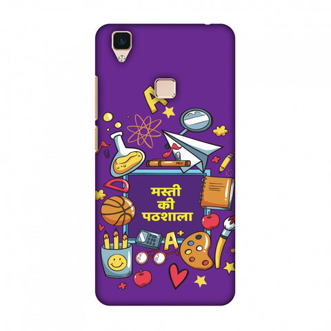 Masti Ki Paathshala Slim Hard Shell Case For Vivo V3