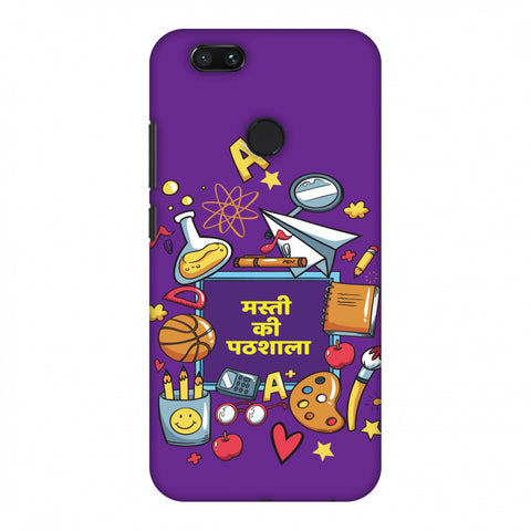 Masti Ki Paathshala Slim Hard Shell Case For Xiaomi MI A1-5X