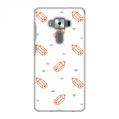 Stationery Slim Hard Shell Case For Asus Zenfone 3 Deluxe ZS570KL