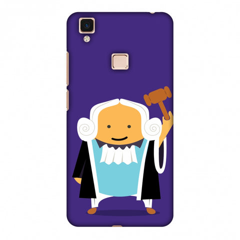 Lawyers 1 Slim Hard Shell Case For Vivo V3 Max