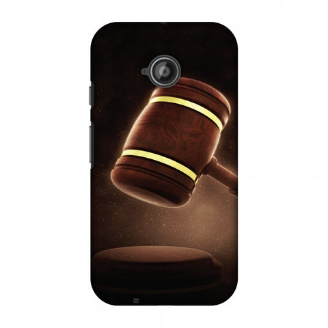 Lawyers 2 Slim Hard Shell Case For Motorola Moto E 2nd Gen