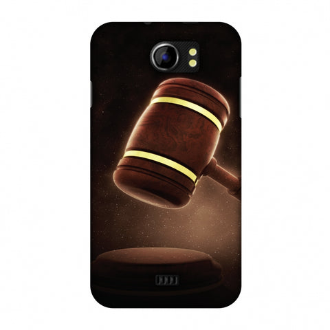 Lawyers 2 Slim Hard Shell Case For Micromax Canvas 2 A110