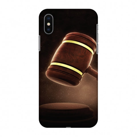 Lawyers 2 Slim Hard Shell Case For Apple iPhone X