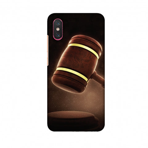 Lawyers 2 Slim Hard Shell Case For Xiaomi Mi 8 Pro
