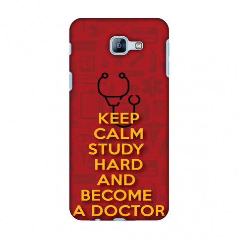 Doctors Quote Slim Hard Shell Case For Samsung Galaxy A8 2016