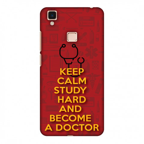 Doctors Quote Slim Hard Shell Case For Vivo V3 Max