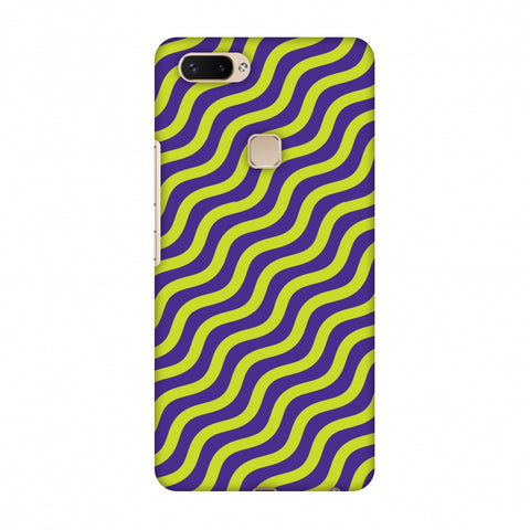 Waves Slim Hard Shell Case For Vivo X20 Plus