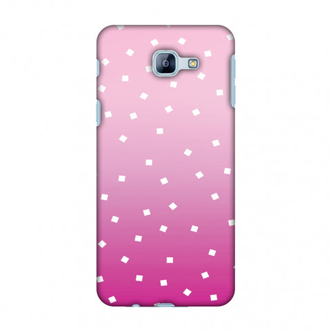 Pink Bits Slim Hard Shell Case For Samsung Galaxy A8 2016