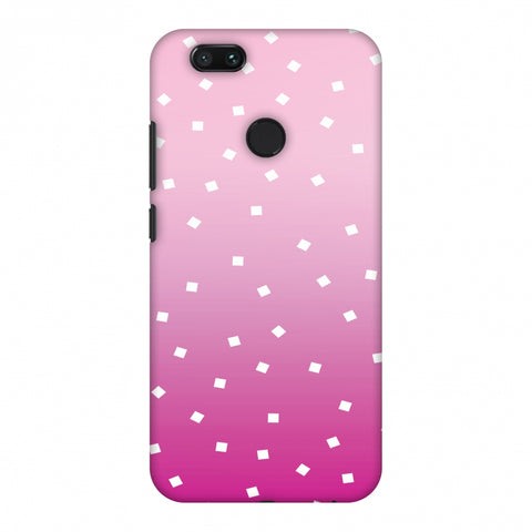 Pink Bits Slim Hard Shell Case For Xiaomi MI A1-5X