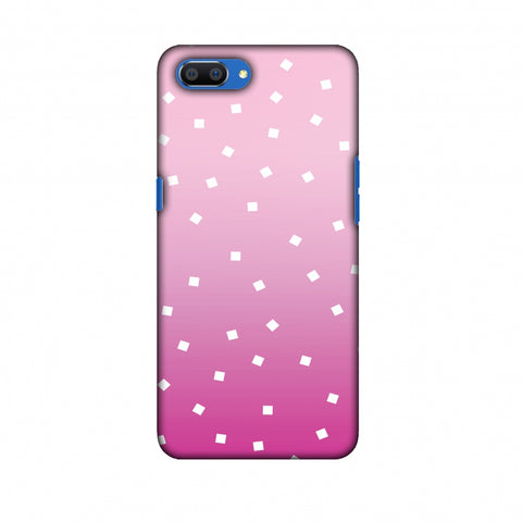 Pink Bits Slim Hard Shell Case For Oppo Realme C1