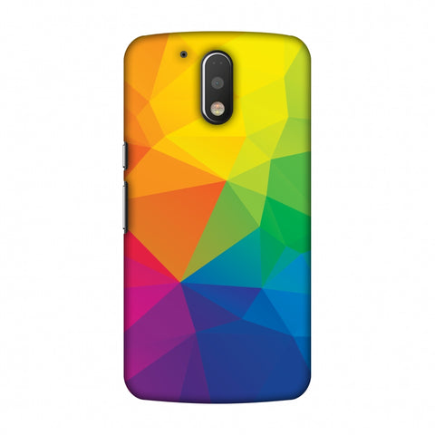 Polygon Fun 1 Slim Hard Shell Case For Motorola Moto G4 Play