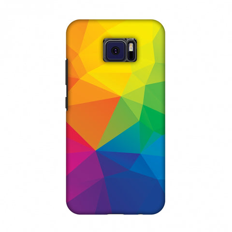 Polygon Fun 1 Slim Hard Shell Case For Asus ZenFone V V520KL