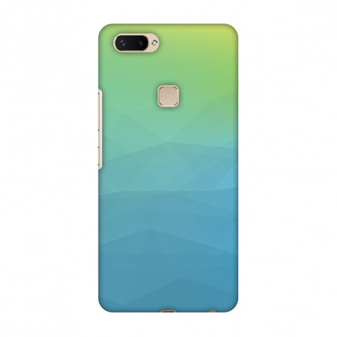 Polygon Fun 2 Slim Hard Shell Case For Vivo X20 Plus