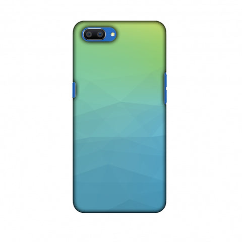 Polygon Fun 2 Slim Hard Shell Case For Oppo Realme C1