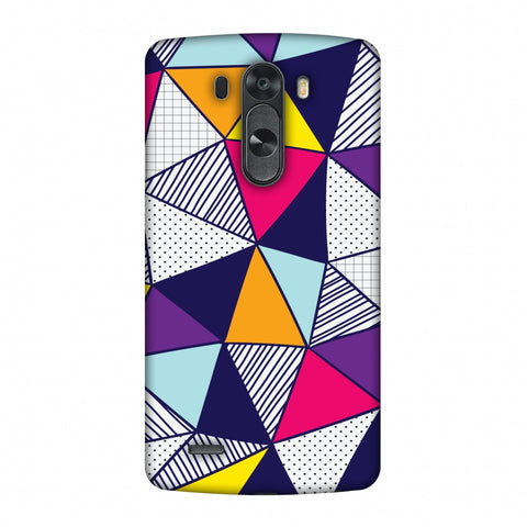 Polygon Fun 3 Slim Hard Shell Case For LG G4