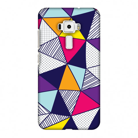 Polygon Fun 3 Slim Hard Shell Case For Asus Zenfone 3 ZE520KL