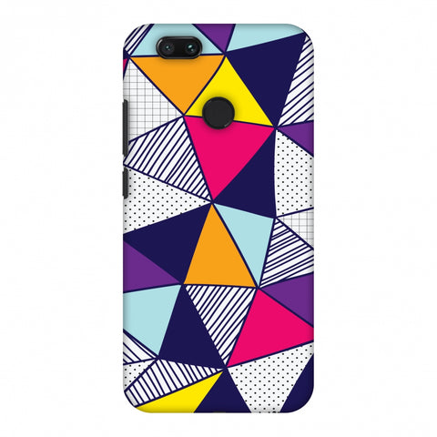 Polygon Fun 3 Slim Hard Shell Case For Xiaomi MI A1-5X
