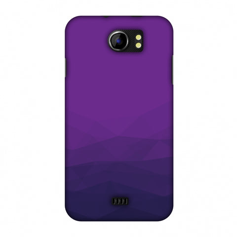 Polygon Fun 4 Slim Hard Shell Case For Micromax Canvas 2 A110