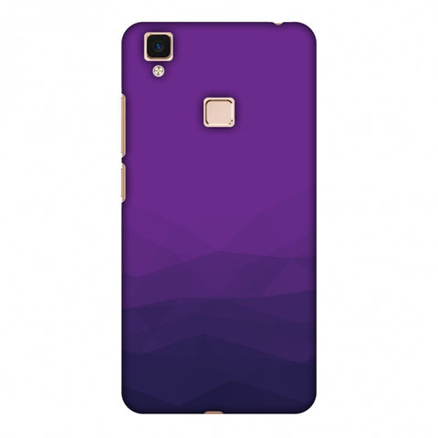Polygon Fun 4 Slim Hard Shell Case For Vivo V3 Max